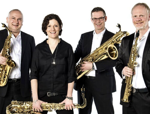 Saxophone im Schlosskonzert