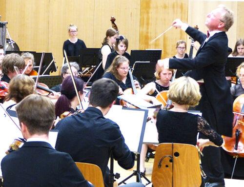 Sinfonieorchester begeistert!